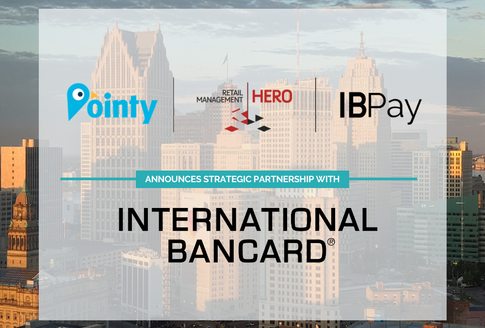 International Bancard and New West Technologies announce an integration with Pointy from Google.